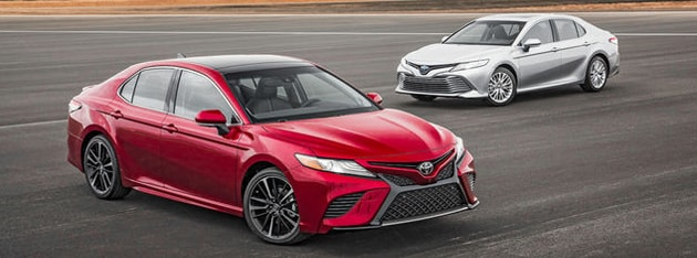 2018 Toyota Camry At Concord Toyota