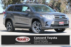 New 2019 Toyota Highlander Hybrid LE V6 SUV in Concord CA
