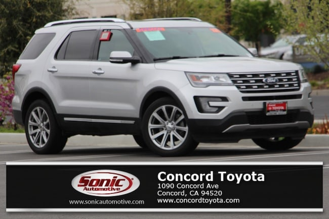 Used 2017 Ford Explorer Limited  FWD SUV in Concord, CA
