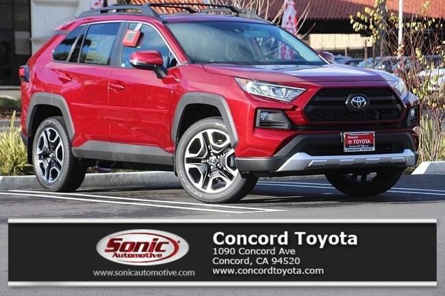 New 2019 Toyota RAV4 Adventure SUV in Concord, CA