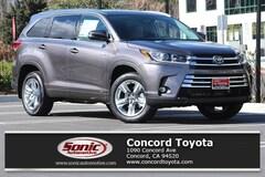 New 2019 Toyota Highlander Hybrid Limited V6 SUV in Concord CA