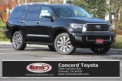 New 2019 Toyota Sequoia Limited SUV in Concord CA
