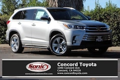 New 2018 Toyota Highlander Limited V6 SUV in Concord CA