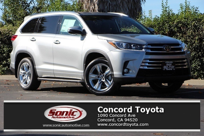 New 2018 Toyota Highlander Limited V6 SUV in Concord, CA