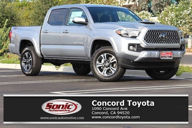 New 2019 Toyota Tacoma TRD Sport V6 Truck Double Cab in Concord, CA