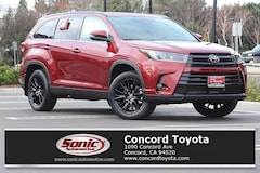 New 2019 Toyota Highlander SE V6 SUV in Concord CA
