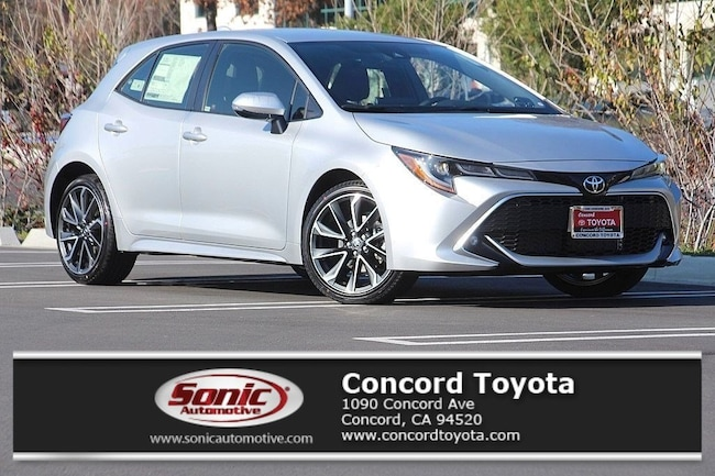 New 2019 Toyota Corolla Hatchback XSE Hatchback in Concord, CA