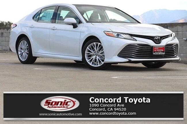 New 2019 Toyota Camry XLE V6 Sedan in Concord, CA