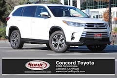 New 2019 Toyota Highlander LE V6 SUV in Concord CA