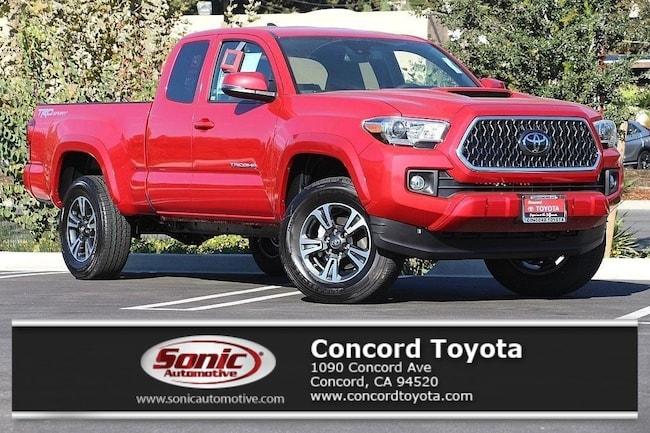 New 2019 Toyota Tacoma TRD Sport V6 Truck Access Cab in Concord, CA