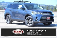 New 2019 Toyota Highlander XLE V6 SUV in Concord CA