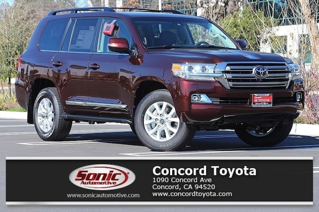 New 2019 Toyota Land Cruiser V8 SUV in Concord, CA