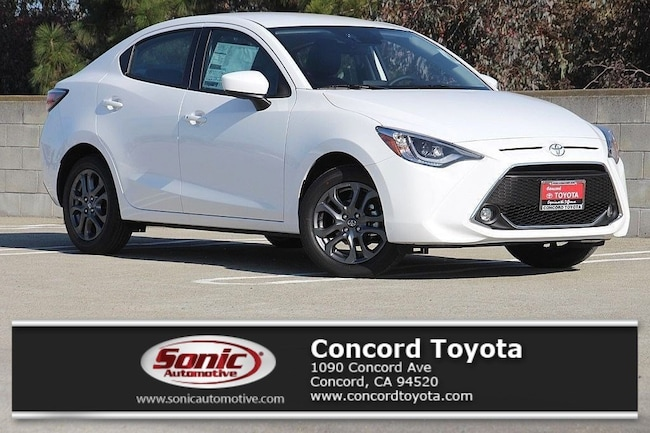 New 2019 Toyota Yaris XLE Sedan in Concord, CA