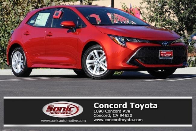 New 2019 Toyota Corolla Hatchback SE Hatchback in Concord, CA