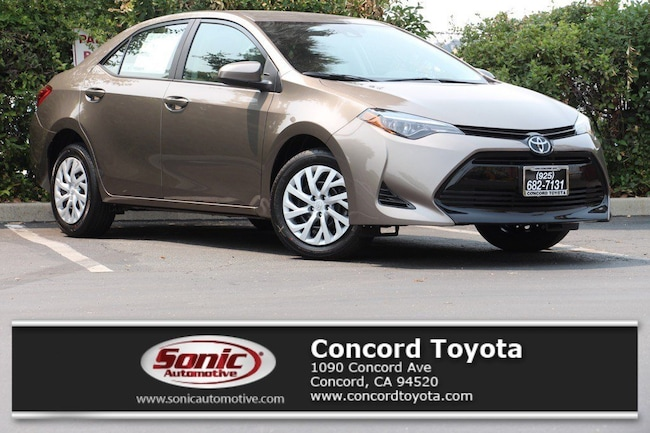 New 2019 Toyota Corolla LE Sedan in Concord, CA