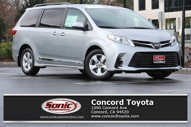 New 2019 Toyota Sienna LE 8 Passenger Van in Concord, CA