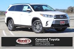 New 2019 Toyota Highlander Hybrid XLE V6 SUV in Concord CA