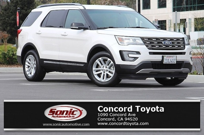 Used 2016 Ford Explorer XLT FWD 4dr SUV in Concord, CA