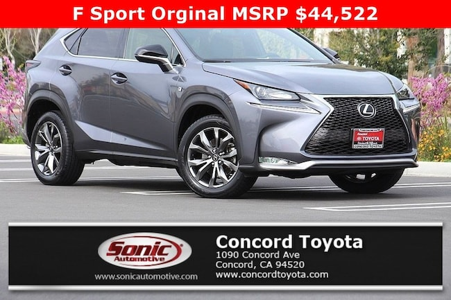 Used 2016 LEXUS NX 200t FWD 4dr SUV in Concord, CA