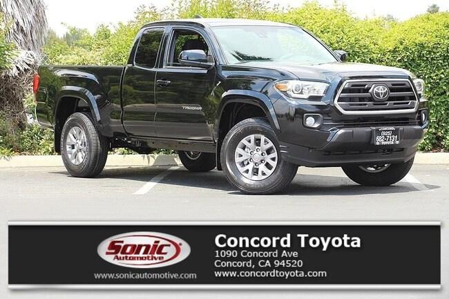 New 2018 Toyota Tacoma SR5 V6 Truck Access Cab in Concord, CA
