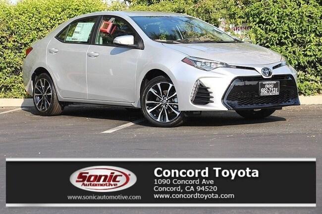 New 2019 Toyota Corolla SE Sedan in Concord, CA