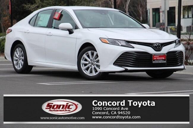 New 2019 Toyota Camry LE Sedan in Concord, CA