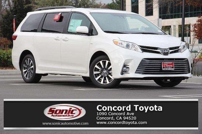 New 2019 Toyota Sienna XLE 7 Passenger Van in Concord, CA