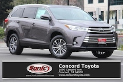 New 2019 Toyota Highlander XLE V6 SUV in Concord CA