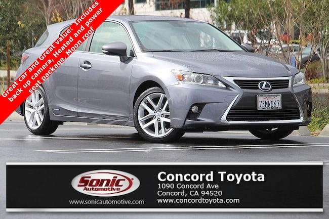 Used 2016 LEXUS CT 200h Hybrid 5dr Sdn Hatchback in Concord, CA