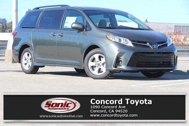 New 2019 Toyota Sienna LE 8 Passenger Van in Concord, CA