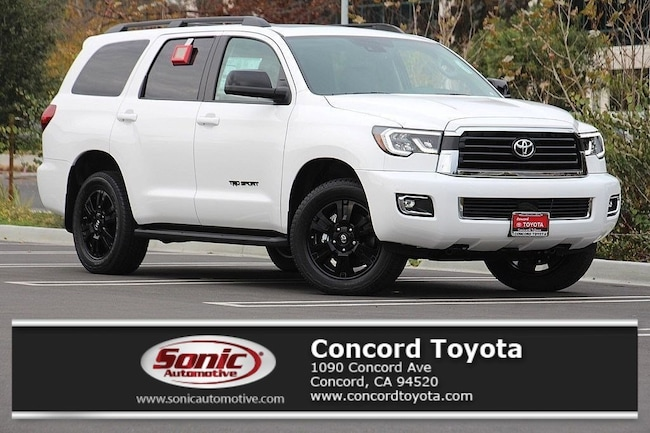 New 2019 Toyota Sequoia TRD Sport SUV in Concord, CA