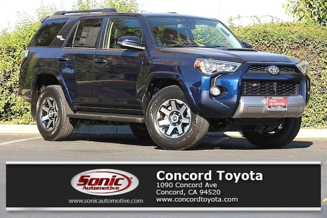 New 2019 Toyota 4Runner TRD Off Road Premium SUV in Concord, CA