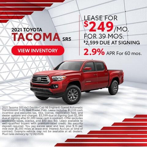 2021 Toyota Tacoma SR5
