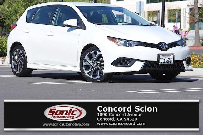 Used 2016 Scion iM 5dr HB CVT Natl Hatchback in Concord, CA