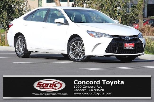 Certified 2017 Toyota Camry SE  Auto Natl Sedan in Concord