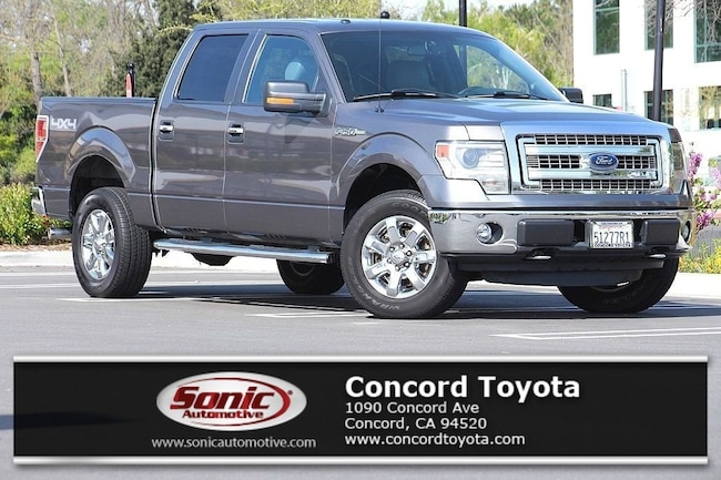 Used 2014 Ford F-150 XLT 4WD Supercrew 145 Truck SuperCrew Cab in Concord, CA
