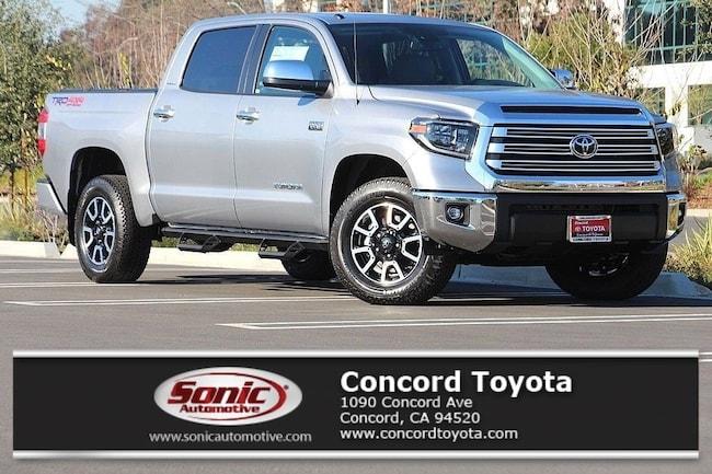 New 2019 Toyota Tundra Limited 5.7L V8 Truck CrewMax in Concord, CA