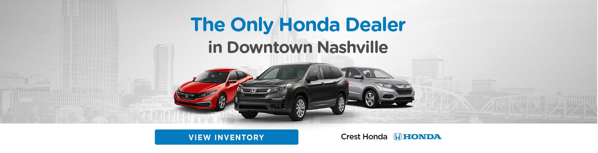Honda Dealers In Tennessee >> Crest Honda New Used Honda Dealer Serving Nashville Tn