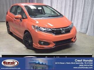New 2018 Honda Fit Sport Hatchback
