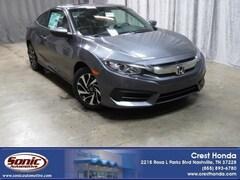 New 2018 Honda Civic LX-P Coupe in Nashville