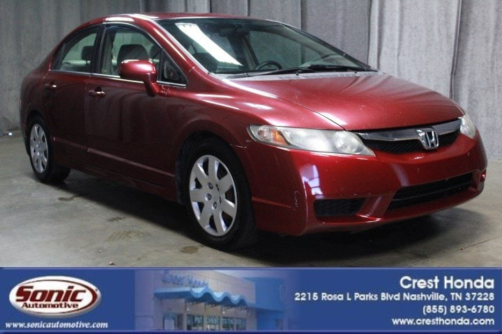 Good Used 2010 Honda Civic LX 4dr Auto Sedan In Nashville
