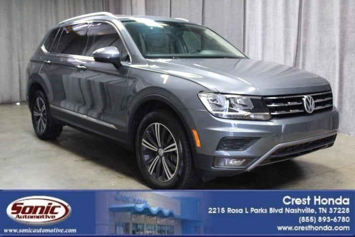 Used 2018 Volkswagen Tiguan SEL 2.0T FWD SUV For Sale In Brentwood, TN