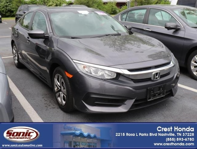 Used 2016 Honda Civic LX Sedan in Nashville