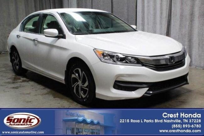 Used 2016 Honda Accord LX 4dr I4 CVT Sedan in Nashville