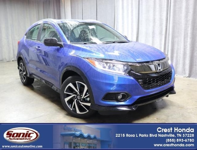 New 2019 Honda HR-V Sport 2WD SUV in Nashville