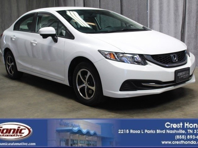 2015 Honda Civic SE 4dr CVT Sedan