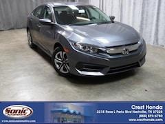 New 2018 Honda Civic LX Sedan in Nashville