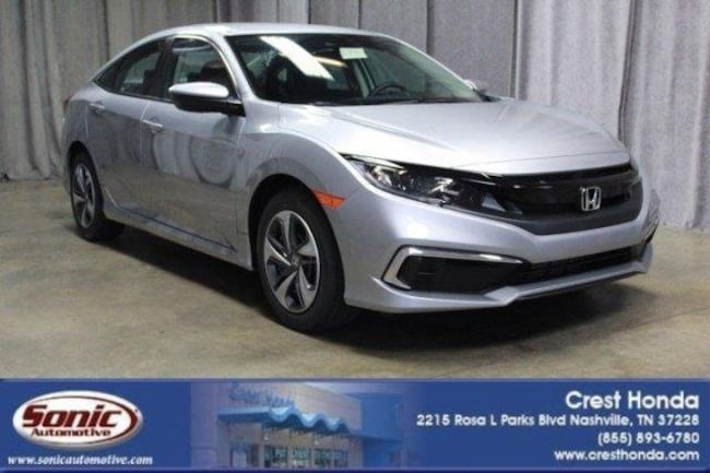 New 2019 Honda Civic LX Sedan in Nashville