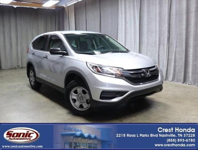 Used 2016 Honda CR-V LX SUV in Nashville