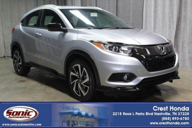 New 2019 Honda HR-V Sport AWD SUV in Nashville
